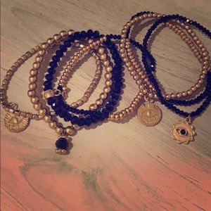 Evil eye bracelets never worn
